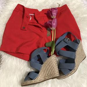 H&M cuffed chino shorts NWOT